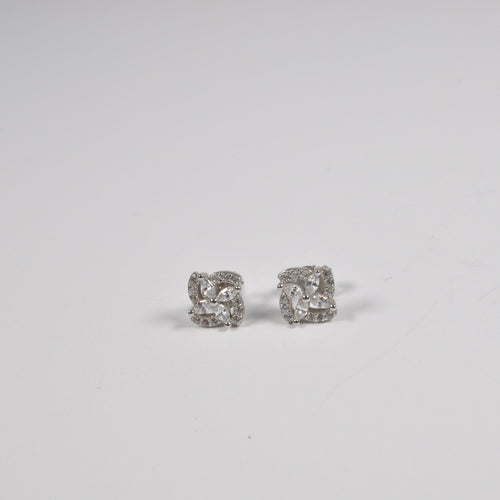 Splash Square Earrings - by Galia