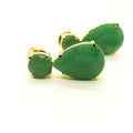 Dark Green Earring - by Galia