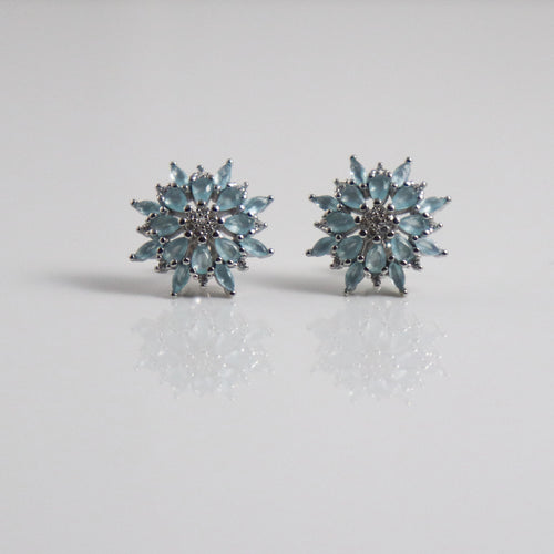 Celeste Mandala Stud Earrings - by Galia