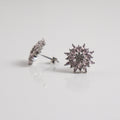 Rose Mandala Stud Earrings - by Galia