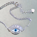 Fancy Eye Protective Chain Bracelet - by Galia