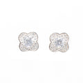 Round Flower Dubai Earrings - by Galia