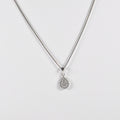Drop Zirconia Pendant Necklace - by Galia