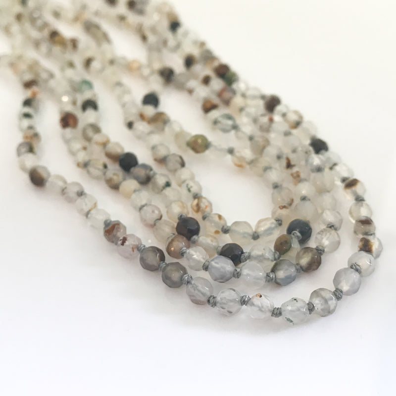 Long Beads Necklace - by Galia