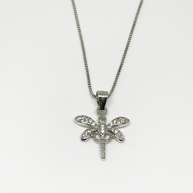 Dragonfly Pendant - by Galia