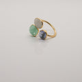 Indian Tones Quartz Ring - by Galia