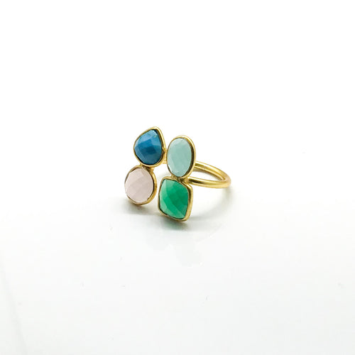 Four Color Ring - by Galia