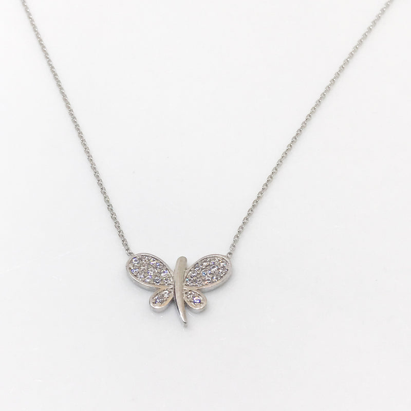 Butterfly Pendant - by Galia