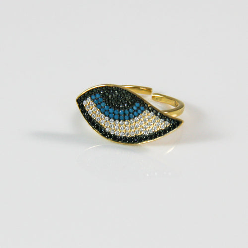 Evil Eye Ring - by Galia