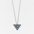 Inverted Triangle Pendant - by Galia