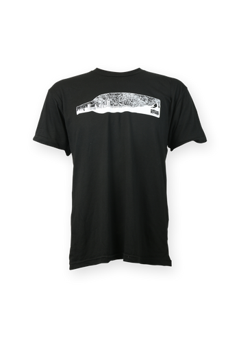 Black Skyline Bottle Tee