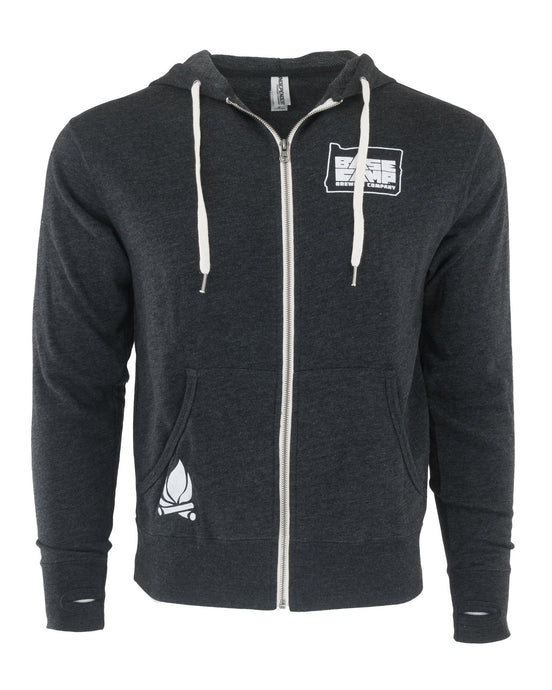 Base Camp Zip Up (Charcoal)