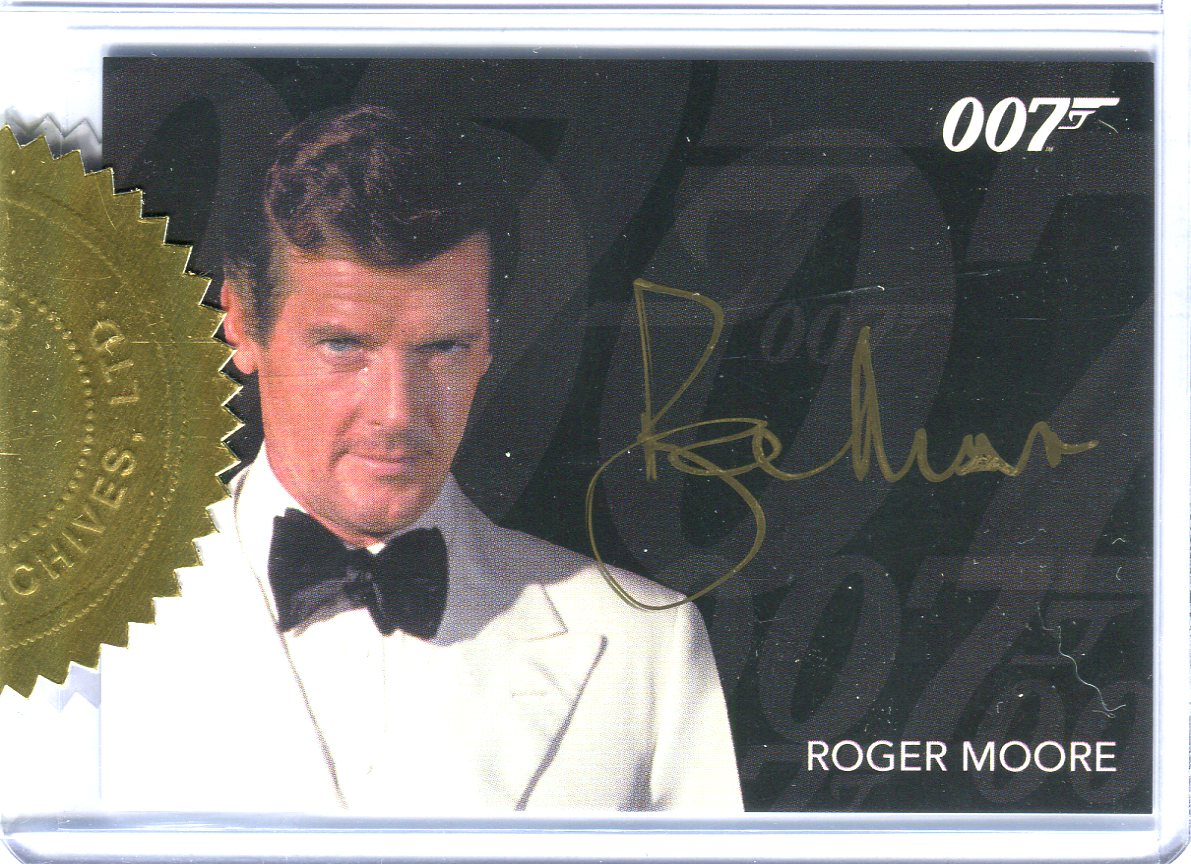 All James Bond Autograph Cards