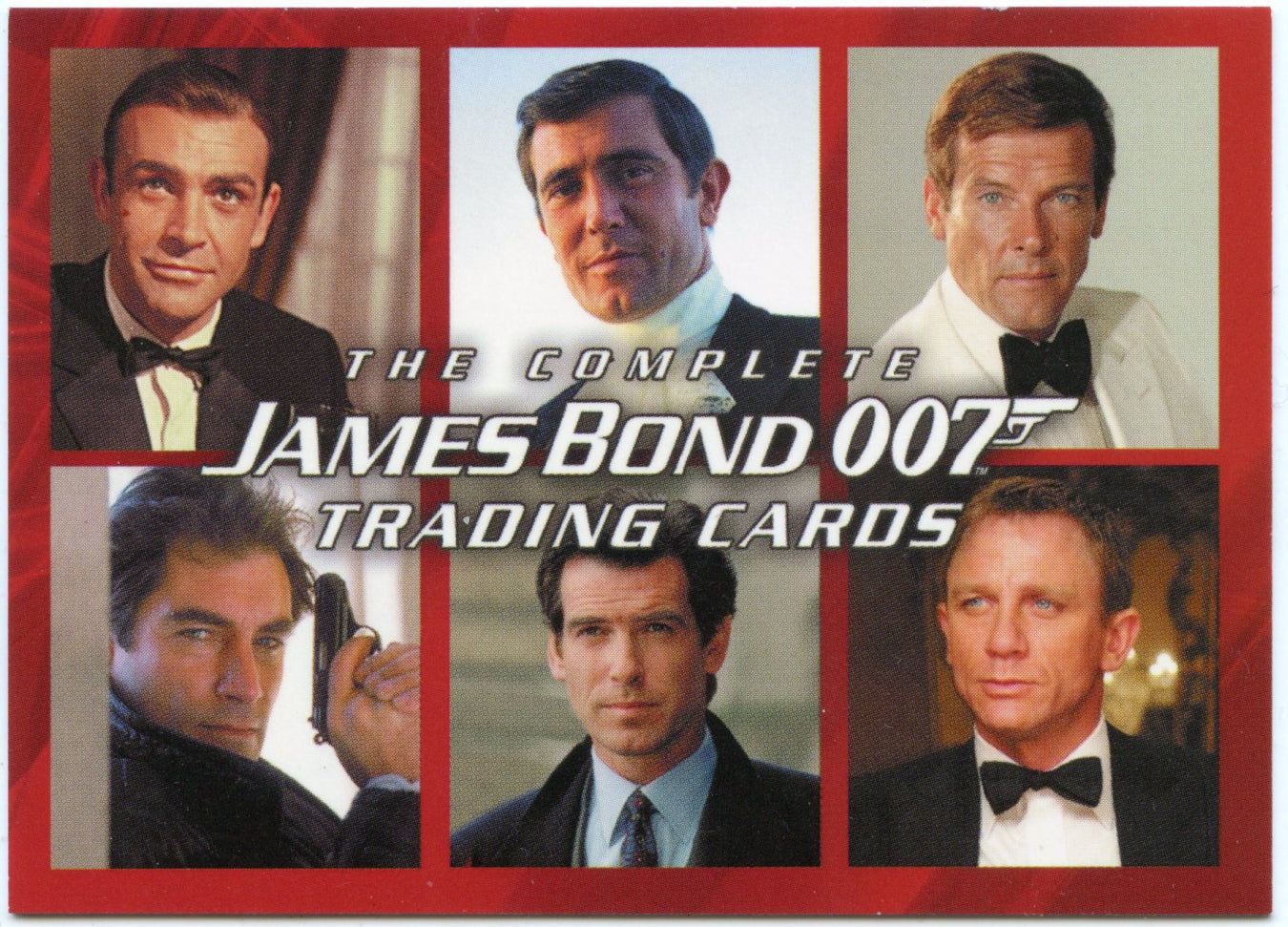 James bond complete promo card