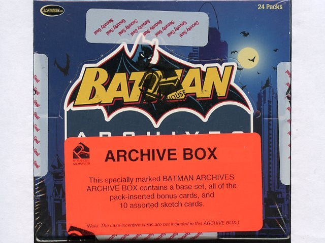 Archive Card Box