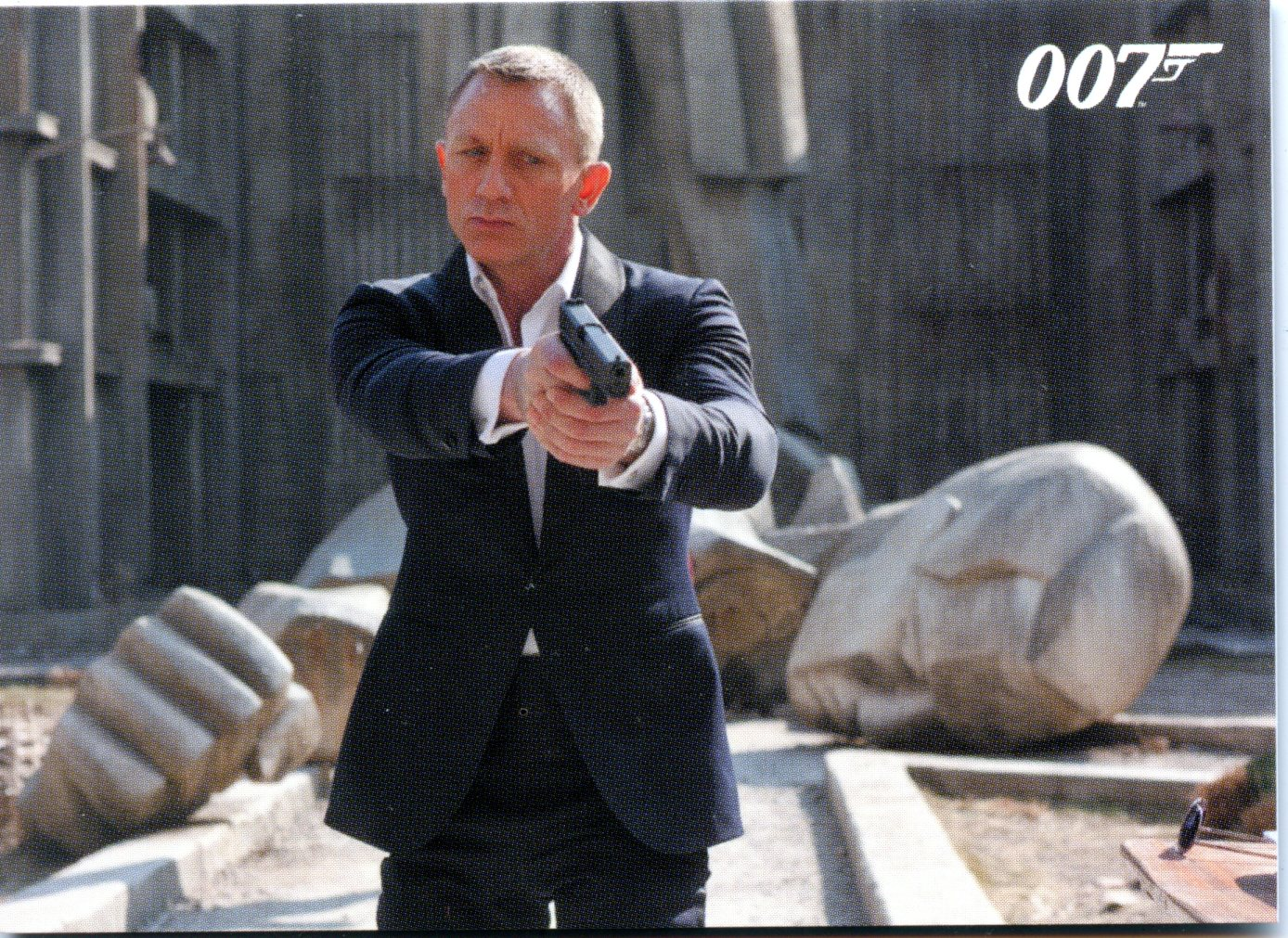 James Bond Autographs & Relics 2013