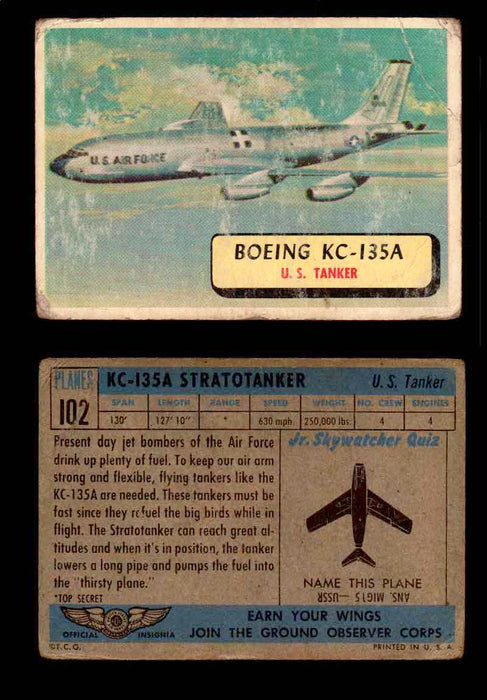 1957 Planes Series II Topps Vintage Card You Pick Singles #61-120 #102  - TvMovieCards.com