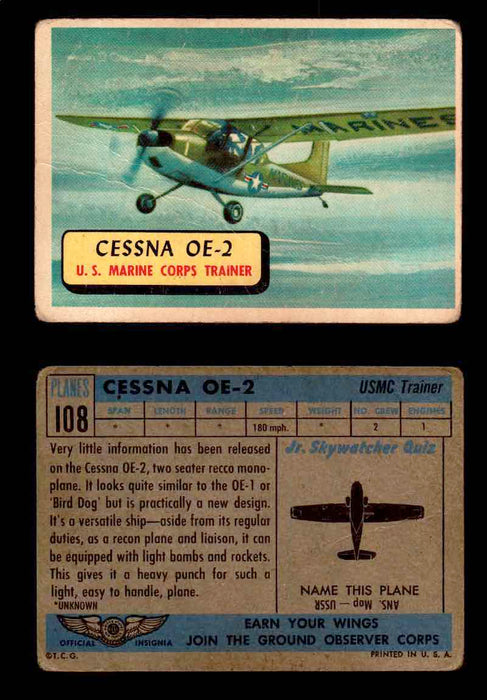 1957 Planes Series II Topps Vintage Card You Pick Singles #61-120 #108  - TvMovieCards.com