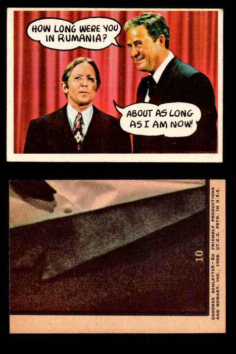 1968 Laugh-In Topps Vintage Trading Cards You Pick Singles #1-77 #10  - TvMovieCards.com