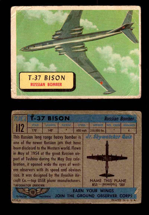 1957 Planes Series II Topps Vintage Card You Pick Singles #61-120 #112  - TvMovieCards.com