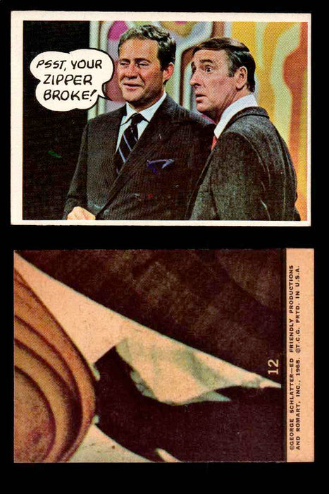 1968 Laugh-In Topps Vintage Trading Cards You Pick Singles #1-77 #12  - TvMovieCards.com