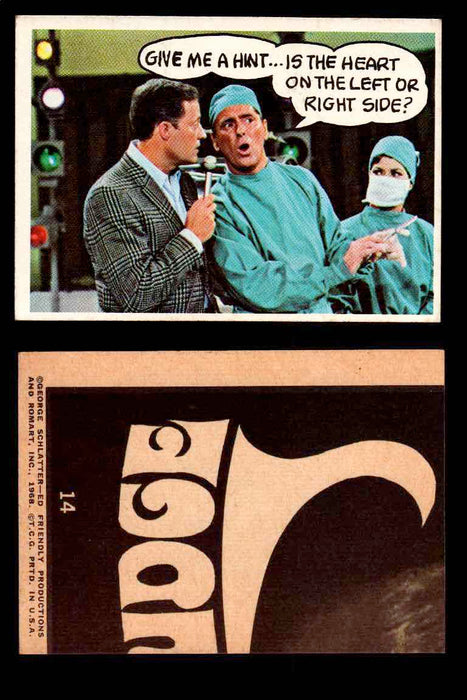 1968 Laugh-In Topps Vintage Trading Cards You Pick Singles #1-77 #14  - TvMovieCards.com