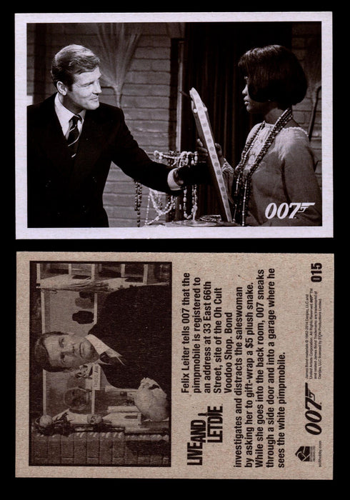 James Bond Archives 2014 Live And Let Die Throwback #34