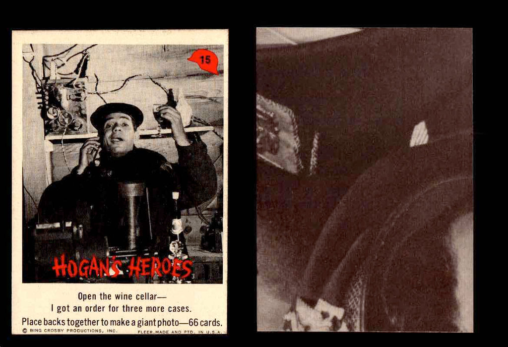 1965 Hogan's Heroes Fleer Vintage Trading Cards You Pick Singles #1-66 #15  - TvMovieCards.com