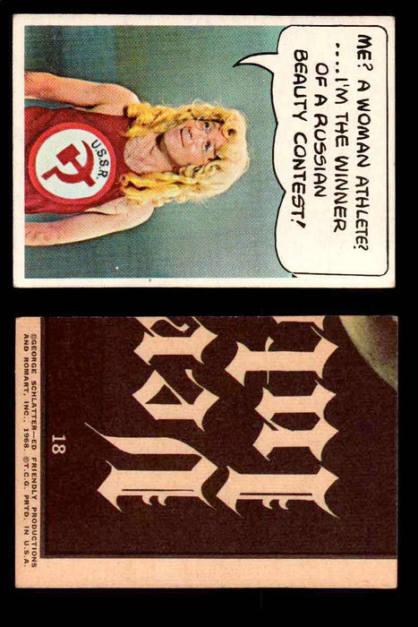 1968 Laugh-In Topps Vintage Trading Cards You Pick Singles #1-77 #18  - TvMovieCards.com