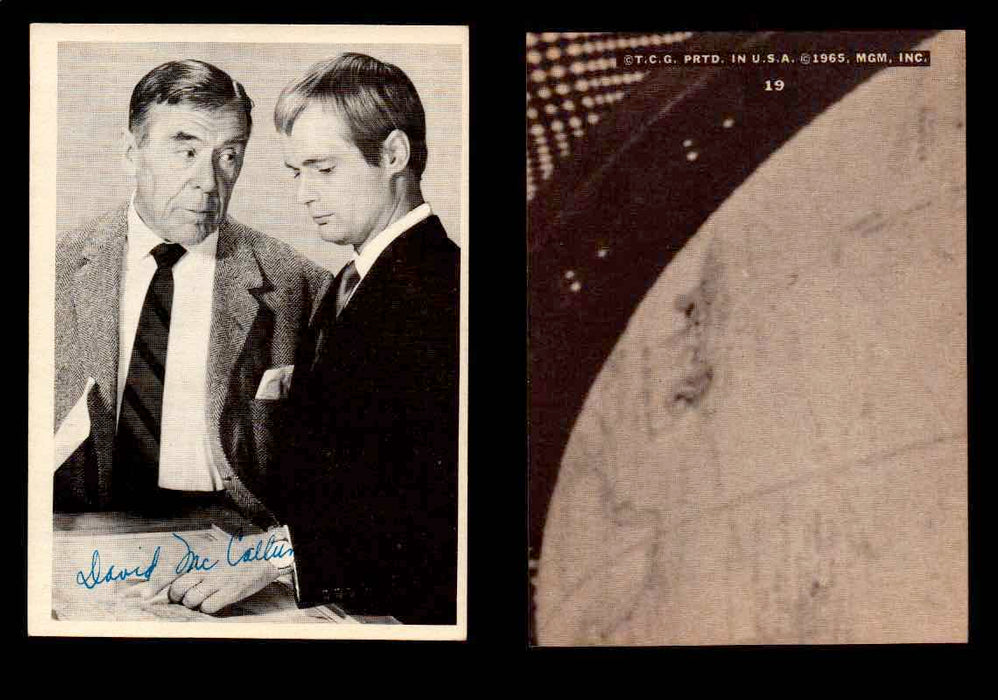 1965 The Man From U.N.C.L.E. Topps Vintage Trading Cards You Pick Singles #1-55 #19  - TvMovieCards.com