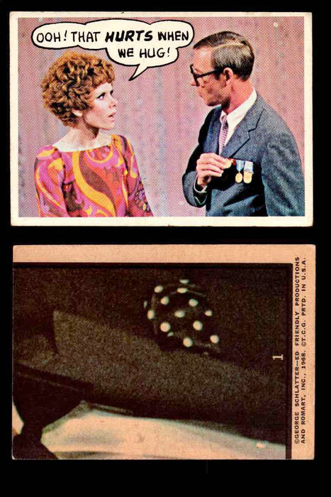 1968 Laugh-In Topps Vintage Trading Cards You Pick Singles #1-77 #1  - TvMovieCards.com