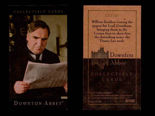 Downton Abbey Seasons 1 & 2 Mini Base Parallel You Pick Single Card CCC01- CCC66