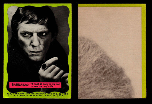xxDark Shadows Series 2 (Green) Philadelphia Gum Vintage Trading Cards You Pick #1  - TvMovieCards.com