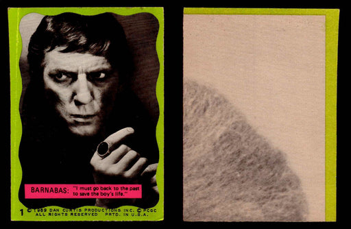 Dark Shadows Series 2 (Green) Philadelphia Gum Vintage Trading Cards You Pick #1  - TvMovieCards.com