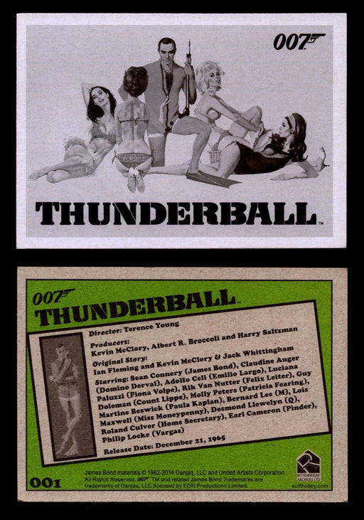 James Bond Archives 2014 Thunderball Throwback You Pick Single Card #1-99 #1  - TvMovieCards.com