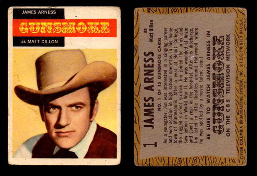 1958 TV Westerns Topps Vintage Trading Cards You Pick Singles #1-71 #1  - TvMovieCards.com