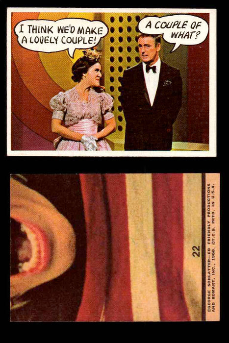 1968 Laugh-In Topps Vintage Trading Cards You Pick Singles #1-77 #22  - TvMovieCards.com