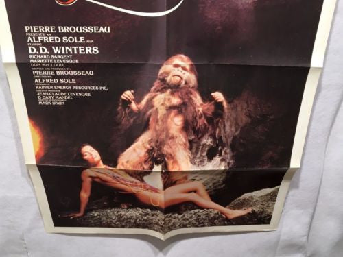 Original 1980 Tanya's Island One Sheet Movie Poster 27 x 41   - TvMovieCards.com