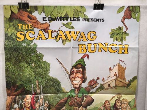 "Original ""Scalawag Bunch"" 1 Sheet Movie Poster 36""x 27"" Universal Cinema   - TvMovieCards.com"