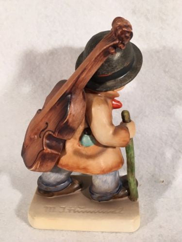 "Goebel Hummel Figurine TMK3 #89/I ""Little Cellist"" 5.25"" Tall   - TvMovieCards.com"