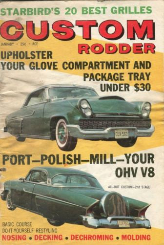 Custom Rodder Automotive Enthusiast Digest Magazine Starbird's 20 Best Grilles   - TvMovieCards.com