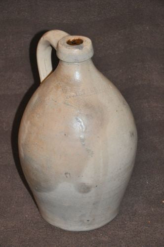 Very Rare 1860's F. Stetzenmeyer Rochester New York Stoneware Jug Antique   - TvMovieCards.com