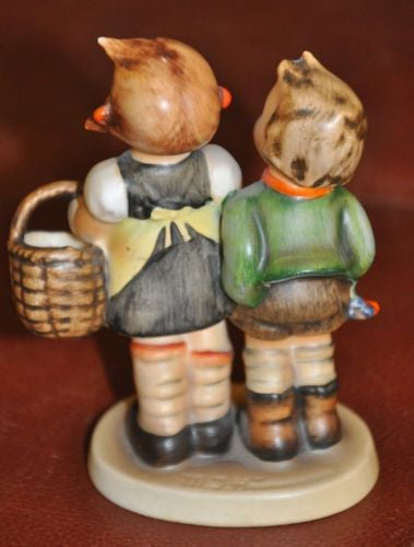 "Goebel Hummel Figurine #49 3/0 ""To Market"" TMK2 Germany 4.5""   - TvMovieCards.com"