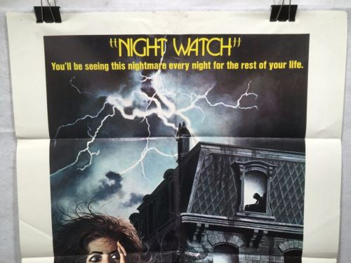 "Original 1973 ""Night Watch"" 1 Sheet Movie Poster 27""x 41"" Elizabeth Taylor   - TvMovieCards.com"