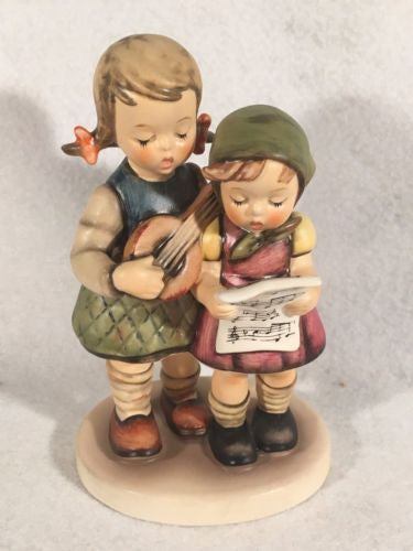 "1955 Goebel Hummel Figurine TMK5 #336 ""Close Harmony"" 5.5"" Tall"