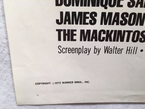 "Original 1973 ""The Mackintosh Man"" 1 Sheet Movie Poster 27x 41"" Paul Newman   - TvMovieCards.com"