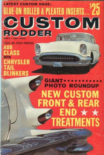 Custom Rodder Automotive Enthusiast Digest Magazine Custom Front & Rear Ends   - TvMovieCards.com
