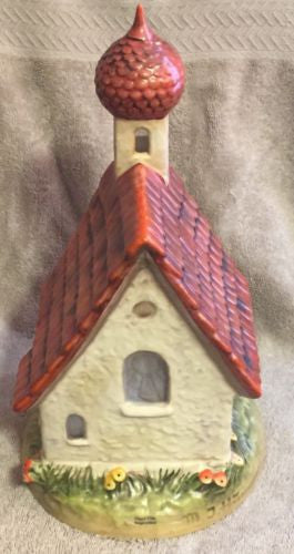 "Goebel Hummel Large Figurine TMK6 ""Chapel Time"" 1st Clock 11""   - TvMovieCards.com"