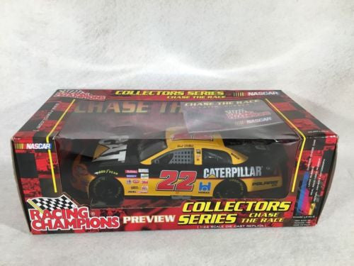 "Racing Champions Diecast Car 1:24 Ward Burton #22 Chase the Race ""Layin Rubber"