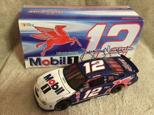 Action 1/24 Diecast #12 Jeremy Mayfield Mobil 1 1998 Ford Taurus Nascar